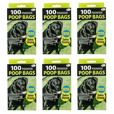 DOGGY BAGS - Scented Pet Poop Bag Dog Cat Poo Waste Toilet Poop extra strong