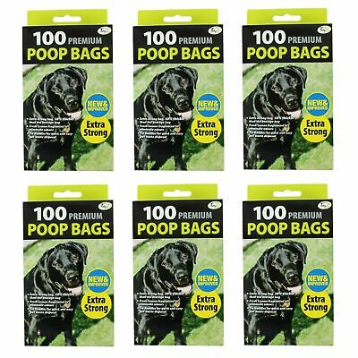 Doggy Poop Bags Premium Fragranced Extra Strong