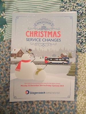 Stagecoach Bus Greater Manchester bus service changes Bus Timetable 2014 2015