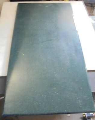 "3/4"" X 15 1/2"" X 27 1/2""  Forest Green Speckled Starboard Polymer"