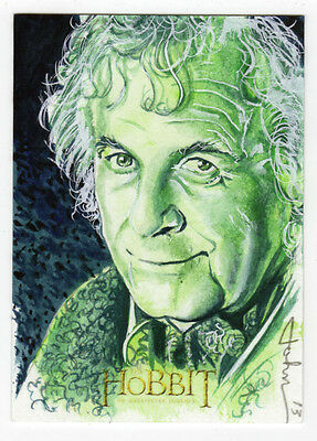 The Hobbit : An Unexpected Journey - John Haun 'Bilbo Baggins' Sketch Card