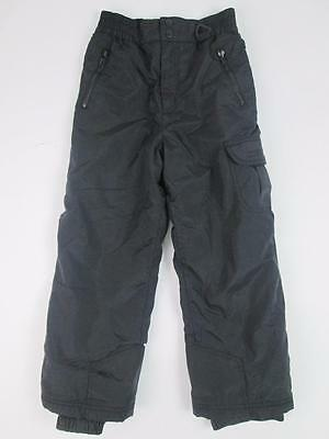 Sport Essentials Kids Boys Black Waterproof Winter Snow Ski Trousers Pants 8 Euc