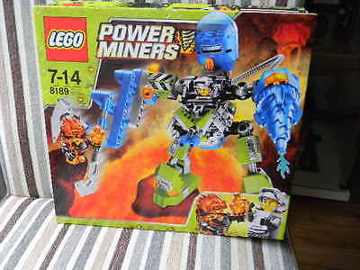Lego Power Miners - Magma Mech 8189 ** NEW sealed **