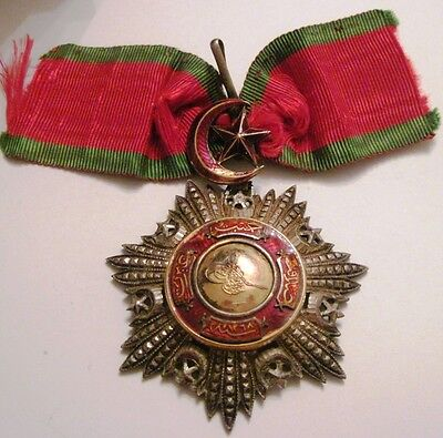 Turkey Turkish Ottoman Empire Order of the Medjidie 3rd class,Commander Cross!