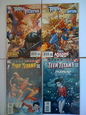 Dc Comics Teen Titans Issues # 1 2 48 49