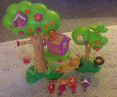 lalaloopsy tree and figures  house bundle