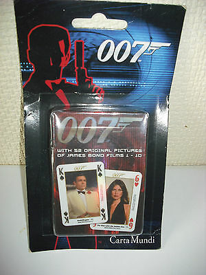 007 James Bond Playing Cards Films 1-10 Sealed