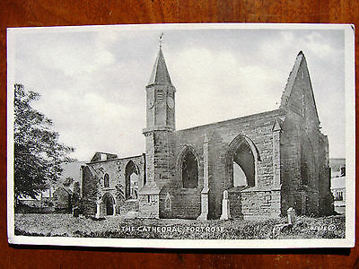 Fortrose Cathedral Black Isle Ross & Cromarty Valentine 1930 For MacDonald