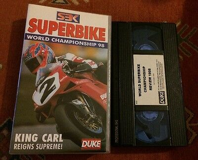 World Superbike Review 1998 - Vhs Video