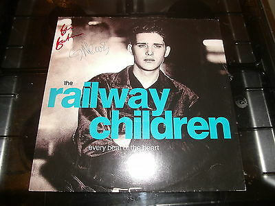 "THE RAILWAY CHILDREN - EVERY BEAT OF THE HEART     (1990)     12"" Vinyl Single"