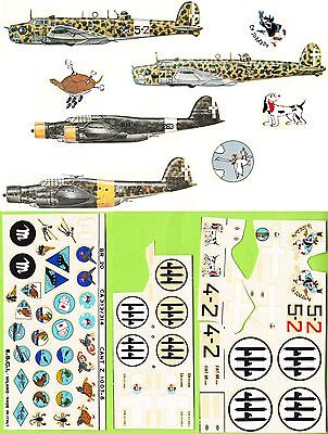 Decal 191. ESCI Decals. BR.20-CA 313/314-CANT Z 1007. M1:72