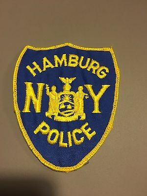 Hamburg  New York  Police Shoulder Patch    Used Old