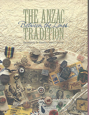 AUSTRALIA 1990 Stamp Book - ANZAC TRADITION Between The Lines + Mint Stamps MNH