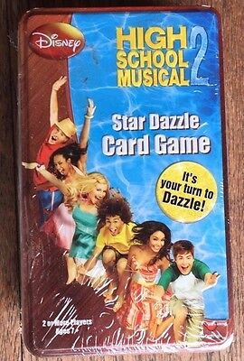 Disney High School Musical Star Dazzle Card Game New Sealed Collectible Tin