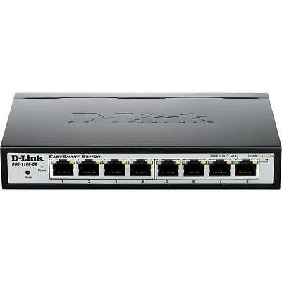 D-Link DGS-1100-08 8-Port Gigabit Smart Managed Switch (fanless) IGMP snooping