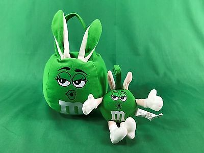 2008 Mars M&M M & M Green Character Plush in Perfect Clean Condition