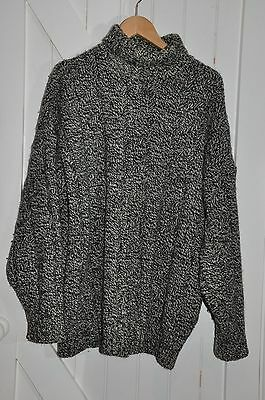 St Michael / Marks & Spencer Vintage Big Chunky Pure New Wool Jumper XL  42