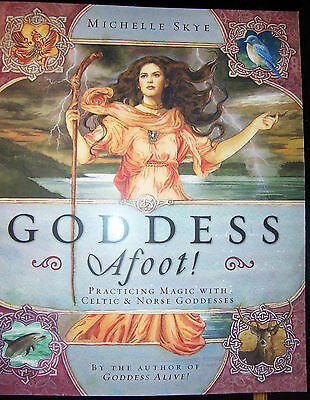 Brand New! Goddess Afoot! Practice Magick With 12 Celtic & Noirse Goddesses Sale