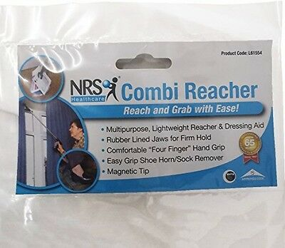 NRS Healthcare L61554 Combi-Reacher 81 cm (32 inches) Ergonomic Reaching Aid
