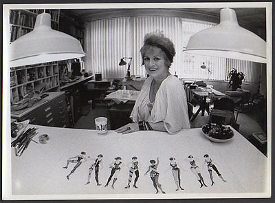 PATRICIA ZIPPRODT Tony Award Costume Designer Broadway, films VINTAGE ORIG PHOTO