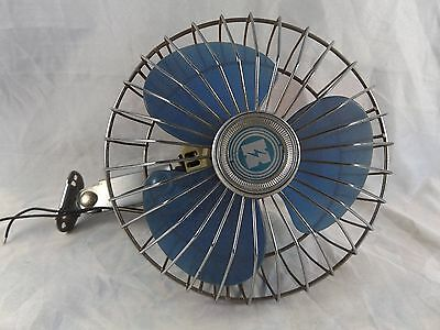 """Vintage 6"""" Electric Fan with Mounting Bracket"""