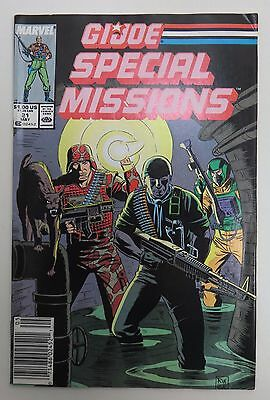 GI Joe Special Missions Vol. 1 No. 21 May 1989 Near Mint Condition Marvel Comic