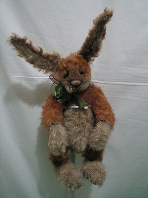 """Zucker Bears """"rabbit"""" Barbara Sixby 15 Inches Tall Mohair Jointed Please Read"""