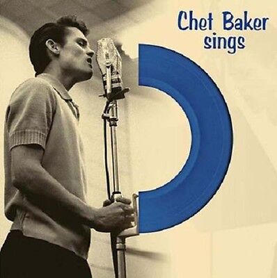 "CHET BAKER Sings 12"" Blue LP 180gm Vinyl NEW"