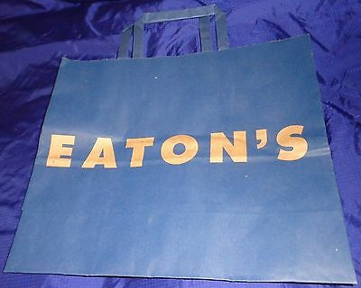 SE563 Vtg T. Eaton Co Ltd Department Store Paper Shopping Bag Ad
