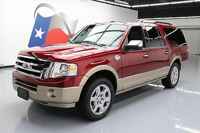 2014 Ford Expedition  2014 FORD EXPEDITION KING RANCH EL SUNROOF NAV 20'S 43K #F26640 Texas Direct