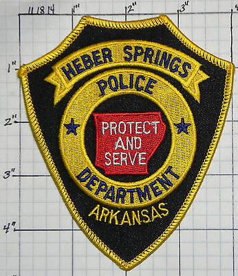Arkansas, Heber Springs Police Dept Patch