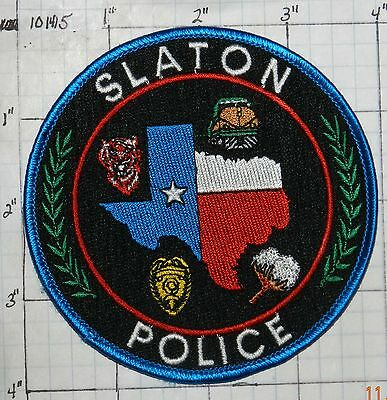 Texas, Slayton Police Dept Patch