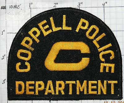 Texas, Coppell Police Dept Patch