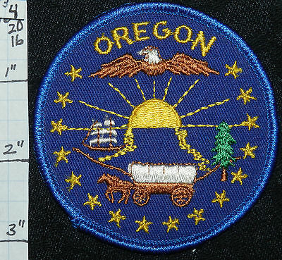 Oregon, Eagle Stagecoach Ship Sun Tree Patch