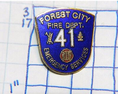 Pennsylvania, Forest City Emergency Services Fire Dept 41 Metal Pin