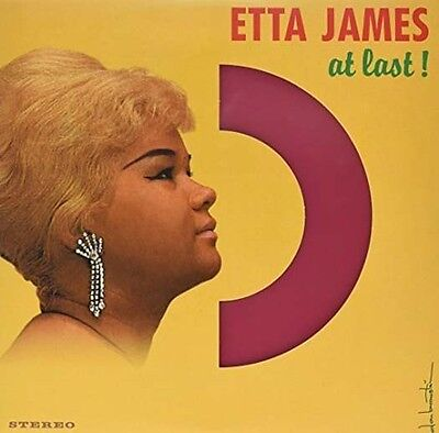 ETTA JAMES At Last LP red coloured 180gm Vinyl NEW 2016
