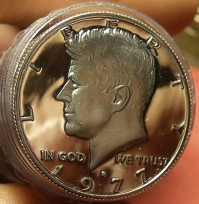United States 1977-S Proof Kennedy Half Dollar Roll (20). Free Shipping