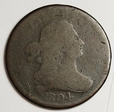 1804 Half Cent.  Circulated.  105675