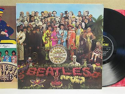 THE BEATLES- Sgt. Pepper's Lonely Hearts Club Band LP (1967 MONO 1st?) EX-/EX