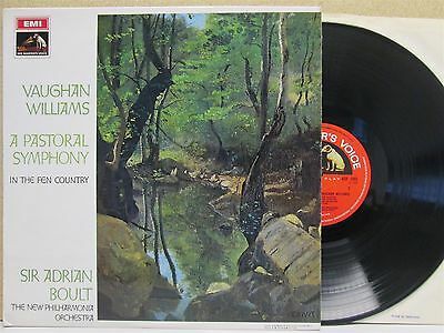 ASD 2393 STEREO RED S/C- Vaughan Williams A Pastoral Symphony etc./ Boult LP EX+