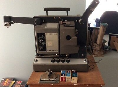 16MM BELL AND HOWEL FILM PROJECTOR - circa 1970