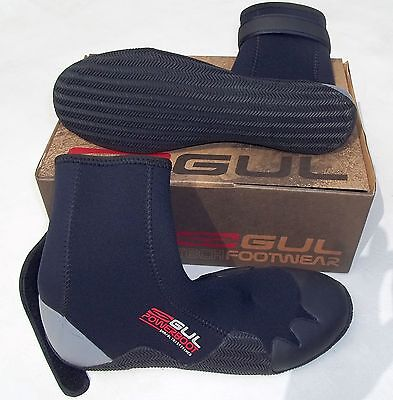 GUL UK 11 SAIL SURF WATERSPORTS 5mm NEOPRENE WETSUIT POWER BOOTS AQUA SHOES BOOT