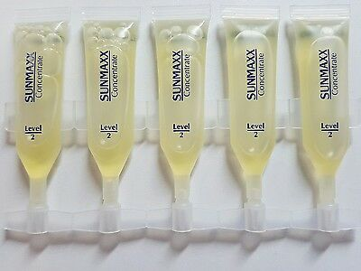 Sunmaxx Concentrates Ampulle Level 2 - 5 x 2,3 ml - Solariumkosmetik Ampullen