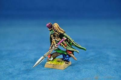 Warhammer Primed wood elf lord with great weapon