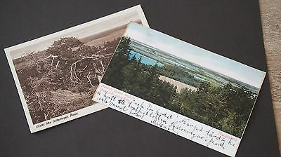 Aland 2x Picture postcard incl. cancel Wardö 1904 RARE