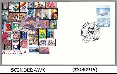 Australian Antarctic Territory- 1987 Stamp And Coin Show - 1V Cover