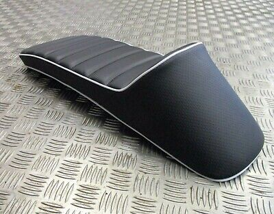 Lambretta s3 GP TV LI SX LI quality race seat saddle stunning black/white