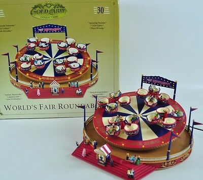 Gold Label Collection Worlds Fair  Round About Kirmes Karussell  09-A-GL