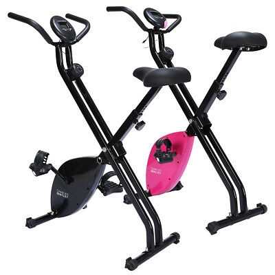 Charles Bentley Exercise Bike Aerobic Indoor Home Cycling Cardio Weight Loss