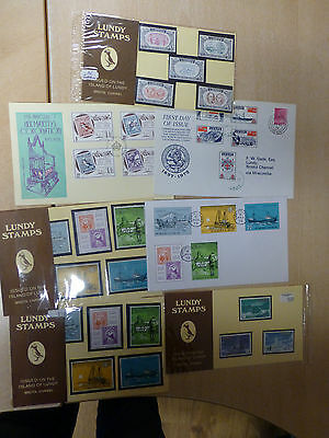 Lundy Stamp Collection Inc Presentation Packs